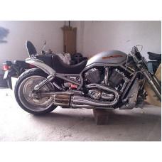 06 Harley Davidson V-Rod Muscle Full Exhaust EU homologation
