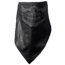 Reflective Skull Face Mask Wrap w/Fleece
