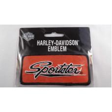 Harley Davidson nášivka Sportster oranžová - #EMB062643