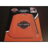 Harley Davidson Orange Bar & Shield Ice Scraper - Snow Remover