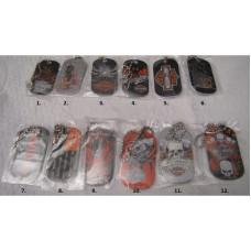 Harley Davidson - dog tag, choice from 12 options