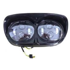 EU Approved LED Headlight Harley Davidson Road Glide - Daymaker E-mark