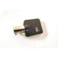 Blank Key For Harley Davidson Black Tubular Barrel Ignition Key