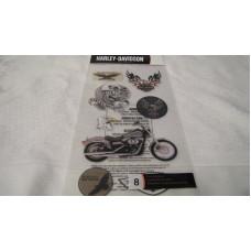 Harley Davidson (8pcs) HDFL02 decals