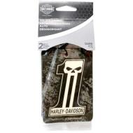 Harley Davidson #1 Skull Dark Custom 2pk Air Freshener