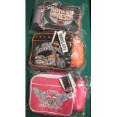 taška na svačinu (nebo cestovní) Harley Davidson včetně láhve - už jen červená