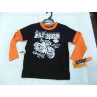 Chlapecké triko s dlouhým rukávem - Harley Davidson, velikost 4 roky