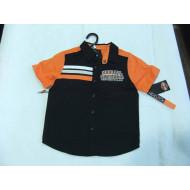 Chlapecká košile s krátkým rukávem - Harley Davidson, velikost 4,5,6 let