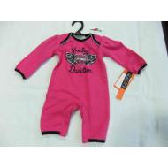 Harley-Davidson Baby Girls' Biker Knit Newborn Bib