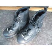 "HARLEY DAVIDSON Shoes Liberty Black Leather Boots 7"" Lace Toe 94119 Men Size 8,5"