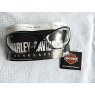 Harley Davidson unisex sportovní čiré brýle, černá barva
