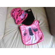 Harley-Davidson Baby Girls 2 Bib + Beanie - set, Size N/S