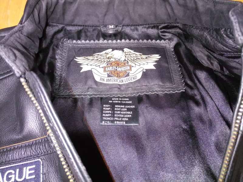 HARLEY DAVIDSON MEN 105TH ANNIVERSARY LEATHER MOTORCYCLE JACKET S 97105-08VM