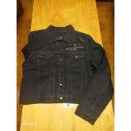 Harley-Davidson Womens Wax Coated Denim Trucker Jacket 97414-17VW, Large
