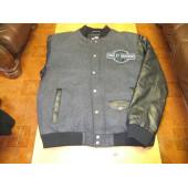 Harley-Davidson Men's Rowan Casual Colorblocked Varsity Jacket Medium Large