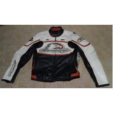 Harley Davidson Women's RACEWAY Screamin Eagle Leather Jacket Small Medium