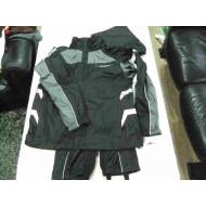 Mens Jacket+Trousers, Full Speed Reflective Rainsuit - 98336-15VM Harley-Davidson size L, Black