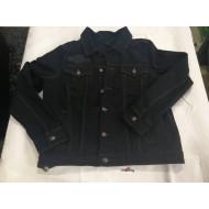 Dámská látková černá džínová bunda Harley-Davidson 98593-18VW, vel. XL