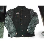 Mens leather-textile Jacket Harley-Davidson size Medium, Black