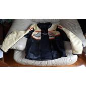 Harley Davidson Women's RACEWAY Screamin Eagle Leather Jacket Small