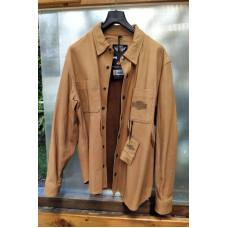Harley Davidson Light Brown Leather Jacket XXL