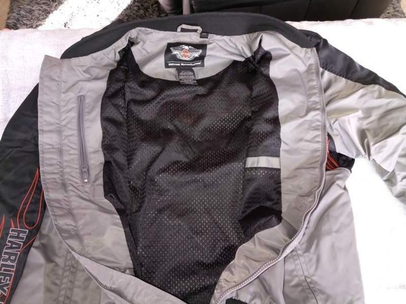 Used Alfa Romeo For Sale >> Harley Davidson Men's Grey Nylon Jacket with Flames XXL ...
