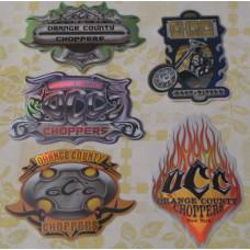 Samolepka Orange County Choppers - výběr z 5-ti druhů