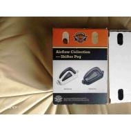 Harley Davidson Airflow Shifter Peg, Crome, Rubber, 33600075, Multi-Fit