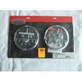 Kuryakyn Helicopter Speaker Grille for Harley Electra Glide, chrom,3751