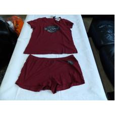 Harley Davidson dámské pyžamo (dárková sada tričko a šortky)