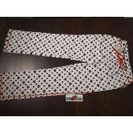 Harley Davidson dámské bílé pyžamo se srdíčky - kalhoty (tepláky) vel. S, M, L