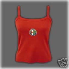 Dámské červené tílko Alfa Romeo,vel.S,M,L