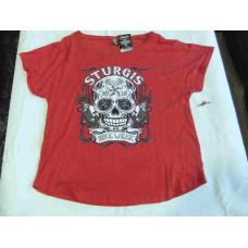 Dámské tričko s krátkým rukávem Sturgis, vel. XL