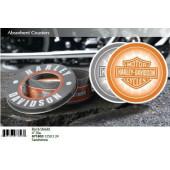 Podtácky Harley Davidson 4ks 3 druhy #67180x