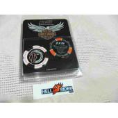 Harley Davidson Casino Chip 2pcs Pack 115th Anniversary