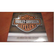 Harley Davidson 2013 Wall Calendar 16 months