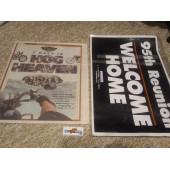 Noviny a plakát 95. výročí Harley-Davidson v Milwaukee