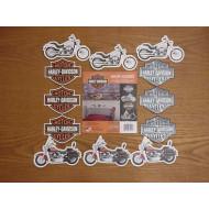Harley Davidson dekorace na stěnu pokoje HD67196C