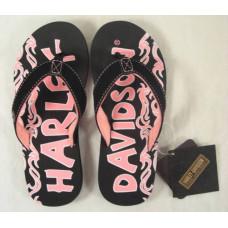 Harley Davidson Kids Flip Flops D61058