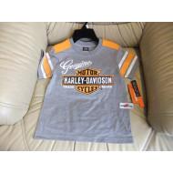 Chlapecké šedé tričko - Harley Davidson , vel. 2 - 7 let