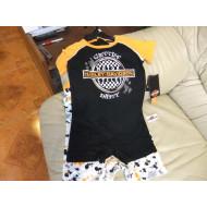 Dětská sada - triko s nohavičkami+tílko s nohavičkami - Harley Davidson, vel. až do 2 let