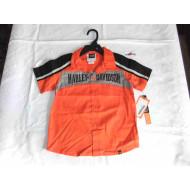 Dětská košilka s krátkým rukávem - Harley Davidson, vel. 3, 4 roky