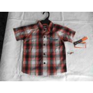 Chlapecká košile + džínové kalhoty - set Harley Davidson , 18 měsíců a 2 roky