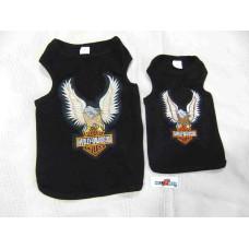 Harley Davidson Black Dog T-Shirt, M, XXL