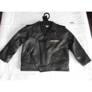 Harley-Davidson Boys' Faux Leather Biker Jacket 4,7 years