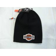 Harley-Davidson Baby Boys', Black, Knit Beanie, 2 - 4 T