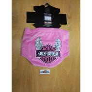 Harley-Davidson Baby Biker Diaper Cover Pink