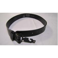 Černý kožený pásek Harley Davidson - 97915-01VM, krátký, vel. 28