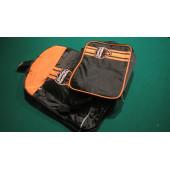 Taška batoh + taštička Harley Davidson Flames