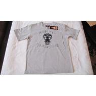 Dětské šedé tričko s lebkou Harley Davidson F9XBB54HD